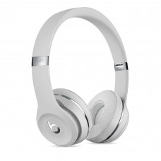 Beats Solo3 Wireless On-Ear Headphones - Beats Icon Collection - Satin Silver (MX452/MUH52)