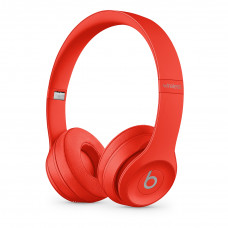 Beats Solo3 Wireless On-Ear Headphones - (PRODUCT)RED Citrus Red (MX472/МР162)