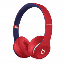 Beats Solo3 Wireless Headphones - Beats Club Collection - Club Red (MV8T2)