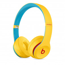 Beats Solo3 Wireless Headphones - Beats Club Collection - Club Yellow (MV8U2)