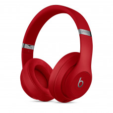 Beats Studio3 Wireless Over‑Ear Headphones - Red (MQD02)