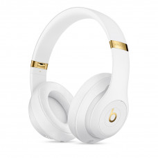 Beats Studio3 Wireless Over‑Ear Headphones - White (MQ572)