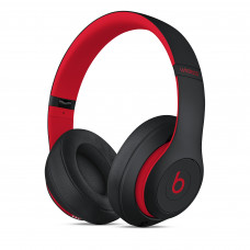 Beats Studio3 Wireless Over-Ear Headphones - The Beats Decade Collection - Defiant Black-Red (MRQ82)